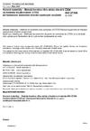 ČSN ISO 27306 Kovové materiály - Metoda korekce vlivu ztráty stísnění na hodnotu houževnatosti CTOD při hodnocení lomového chování ocelových součástí