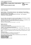 ČSN EN ISO 148-2 Kovové materiály - Zkouška rázem v ohybu metodou Charpy - Část 2: Ověřování zkušebních strojů