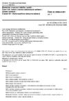 ČSN 33 2000-5-551 ed. 2 Elektrické instalace nízkého napětí - Část 5-55: Výběr a stavba elektrických zařízení - Ostatní zařízení - Článek 551: Nízkonapěťová zdrojová zařízení