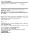 ČSN EN 12668-1 Nedestruktivní zkoušení - Charakterizace a ověřování ultrazvukového zkušebního zařízení - Část 1: Přístroje