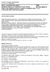 ČSN EN ISO 28927-8 Ruční mechanizovaná nářadí - Zkušební metody pro hodnocení emise vibrací - Část 8: Pily, leštičky a pilníky s vratným pohybem a pily s kmitavým nebo rotačním pohybem