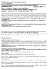 ČSN P CEN/TS 15901-4 Povrchové vlastnosti vozovek pozemních komunikací a letištních ploch - Část 4: Postup pro stanovení protismykových vlastností povrchu vozovek pomocí zařízení s řízeným podélným skluzem (LFCT): Tatra Runway Tester (TRT)