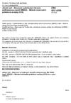 ČSN ISO 16265 Jakost vod - Stanovení aniontových tenzidů methylenovou modří (MBAS) - Metoda kontinuální průtokové analýzy (CFA)