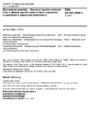 ČSN EN ISO 8894-1 Žárovzdorné materiály - Stanovení tepelné vodivosti - Část 1: Metoda topného drátu (křížové uspořádání a uspořádání s odporovým teploměrem)