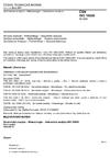 ČSN ISO 16820 Senzorická analýza - Metodologie - Sekvenční analýza