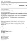 ČSN 33 2000-4-444 Elektrické instalace nízkého napětí - Část 4-444: Bezpečnost - Ochrana před napěťovým a elektromagnetickým rušením