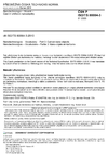 ČSN P CEN ISO/TS 80004-3 Nanotechnologie - Slovník - Část 3: Uhlíkové nanoobjekty
