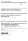 ČSN EN 15302 +A1 Železniční aplikace - Metoda stanovení ekvivalentní konicity