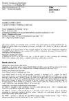 ČSN EN 61936-1 Elektrické instalace nad AC 1 kV - Část 1: Všeobecná pravidla