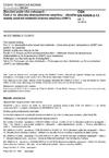 ČSN EN 60695-2-13 ed. 2 Zkoušení požárního nebezpečí - Část 2-13: Zkoušky žhavou/horkou smyčkou - Zkouška teploty zapálení materiálů žhavou smyčkou (GWIT)