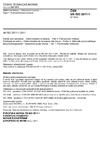 ČSN EN ISO 2811-1 Nátěrové hmoty - Stanovení hustoty - Část 1: Pyknometrická metoda