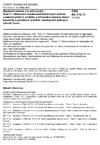 ČSN EN 772-11 Zkušební metody pro zdicí prvky - Část 11: Stanovení nasákavosti betonových tvárnic a zdicích prvků z umělého a přírodního kamene vlivem kapilarity a počáteční rychlosti nasákavosti pálených zdicích prvků