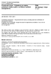 ČSN EN ISO/IEC 17021 Posuzování shody - Požadavky na orgány poskytující služby auditů a certifikace systémů managementu