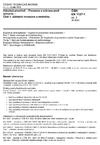 ČSN EN 1127-1 ed. 2 Výbušná prostředí - Prevence a ochrana proti výbuchu - Část 1: Základní koncepce a metodika