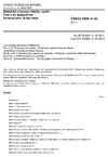 ČSN 33 2000-4-42 ed. 2 Elektrické instalace nízkého napětí - Část 4-42: Bezpečnost - Ochrana před účinky tepla