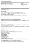 ČSN EN 60695-7-2 Zkoušení požárního nebezpečí - Část 7-2: Toxicita zplodin hoření - Přehled a významnost zkušebních metod