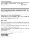 ČSN EN 13082 +A1 Nádrže pro přepravu nebezpečného zboží - Obslužné vybavení nádrží - Ventil pro převádění par