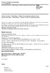 ČSN ISO 3972 Senzorická analýza - Metodologie - Metoda zkoumání citlivosti chuti