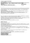 ČSN EN 13146-5 Železniční aplikace - Kolej - Metody zkoušení systémů upevnění - Část 5: Stanovení elektrického odporu