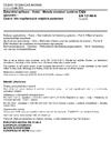 ČSN EN 13146-6 Železniční aplikace - Kolej - Metody zkoušení systémů upevnění - Část 6: Vliv nepříznivých vnějších podmínek