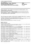 ČSN EN 13481-4 Železniční aplikace - Kolej - Požadavky na vlastnosti systémů upevnění - Část 4: Systémy upevnění pro ocelové pražce