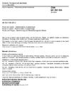 ČSN EN ISO 536 Papír a lepenka - Stanovení plošné hmotnosti
