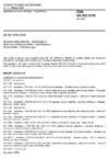 ČSN EN ISO 5755 Spékané kovové materiály - Specifikace