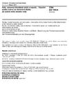 ČSN EN 15934 Kaly, upravený bioodpad, půdy a odpady - Výpočet podílu sušiny po stanovení zbytku po sušení nebo obsahu vody