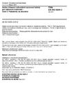 ČSN EN ISO 8205-3 Vodou chlazené sekundární spojovací kabely pro odporové svařování - Část 3: Požadavky na zkoušení
