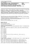 ČSN EN 650 Pružné podlahové krytiny - Polyvinylchloridové podlahové krytiny s podkladem z juty nebo z polyesterového rouna nebo z vrstvy polyesterového rouna s polyvinylchloridovým podkladem - Specifikace