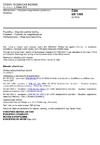ČSN EN 1369 Slévárenství - Zkoušení magnetickou práškovou metodou
