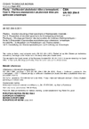 ČSN EN ISO 294-5 Plasty - Vstřikování zkušebních těles z termoplastů - Část 5: Příprava standardních zkušebních těles pro zjišťování anizotropie