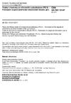 ČSN EN ISO 10147 Trubky a tvarovky ze síťovaného polyethylenu (PE-X) - Posouzení stupně zesíťování stanovením obsahu gelu