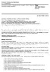 ČSN EN ISO 7539-1 Koroze kovů a slitin - Zkoušky koroze za napětí - Část 1: Obecný návod pro postupy zkoušení