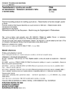 ČSN EN 1608 Tepelněizolační výrobky pro použití ve stavebnictví - Stanovení pevnosti v tahu v rovině desky