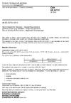 ČSN EN 62731 Text na řeč pro televizi - Obecné požadavky