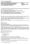 ČSN EN 1996-1-1 +A1 Eurokód 6: Navrhování zděných konstrukcí - Část 1-1: Obecná pravidla pro vyztužené a nevyztužené zděné konstrukce