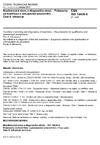 ČSN ISO 18436-8 Monitorování stavu a diagnostika strojů - Požadavky na kvalifikaci a posuzování pracovníků - Část 8: Ultrazvuk