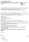 ČSN ISO 12106 Kovové materiály - Zkoušení únavy - Metoda řízení osové deformace