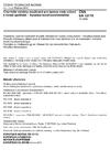 ČSN EN 12175 Chemické výrobky používané pro úpravu vody určené k lidské spotřebě - Kyselina hexafluorokřemičitá