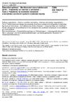 ČSN EN 15437-2 Železniční aplikace - Monitorování stavu ložiskových skříní - Požadavky na rozhraní a provedení - Část 2: Požadavky na technické vlastnosti a konstrukci palubních systémů sledování teploty