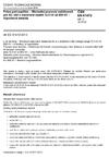 ČSN EN 61472 ed. 2 Práce pod napětím - Minimální pracovní vzdálenosti pro AC sítě s rozsahem napětí 72,5 kV až 800 kV - Výpočtová metoda