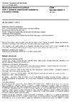 ČSN EN ISO 20957-1 Stacionární tréninková zařízení - Část 1: Základní bezpečnostní požadavky a zkušební metody