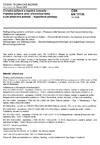 ČSN EN 13136 Chladicí zařízení a tepelná čerpadla - Pojistná zařízení proti překročení tlaku a jim příslušná potrubí - Výpočtové postupy