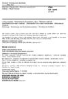 ČSN EN 12945 Materiály k vápnění půd - Stanovení neutralizační hodnoty - Titrační metody