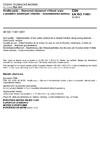 ČSN EN ISO 11461 Kvalita půdy - Stanovení objemové vlhkosti půdy s použitím odběrných válečků - Gravimetrická metoda