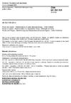 ČSN EN ISO 535 Papír a lepenka - Stanovení absorpce vody podle Cobba