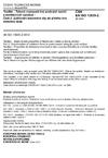 ČSN EN ISO 13935-2 Textilie - Tahové vlastnosti švů plošných textilií a konfekčních výrobků - Část 2: Zjišťování maximální síly do přetrhu švu metodou Grab