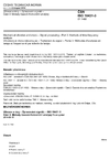 ČSN ISO 18431-3 Vibrace a rázy - Zpracování signálů - Část 3: Metody časově-frekvenční analýzy