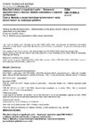 ČSN DIN 51900-2 Zkoušení tuhých a kapalných paliv - Stanovení spalného tepla v tlakové nádobě kalorimetru a výpočet výhřevnosti - Část 2: Metoda s isoperibolickým kalorimetrem nebo kalorimetrem se statickým pláštěm